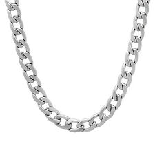 6.5 mm High Polished Stainless Steel Curb Chain Cuban Link Hip Hop Necklace