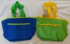 Kids Mini Gardening Canvas Tote Caddy You Choose The Color