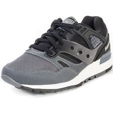 Saucony Grid Sd Mens Trainers Black Grey New Shoes