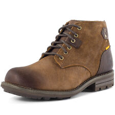 Caterpillar Newcastle Classic Boot Mens Ankle Boots Brown New Shoes