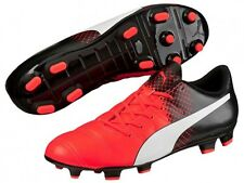 Puma EvoPOWER 4.3 FG Mens Soccer Cleats (Red) 103585 03*