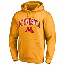Minnesota Golden Gophers Gold Campus Pullover Hoodie