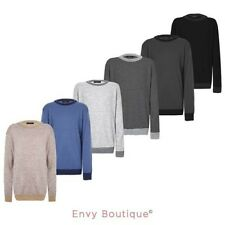 NEW BOYS PLAIN JUMPER KIDS KNITTED SWEATER CHILDRENS LONG SLEEVE KNIT PULLOVER