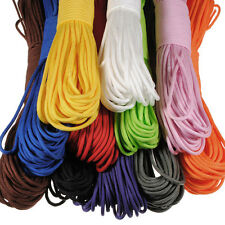 100FT 550lb Nylon Paracord Parachute Cord String Rope for Camping Hiking Surviva