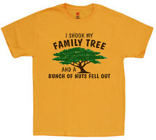 Men's t-shirt funny saying tee family tree crazy family reunion shirts for men