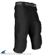 CHAMPRO FPC INTEGRATED YOUTH/ADULT FOOTBALL  PANTS - BLACK ONLY