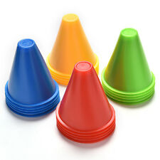 WITCHES HAT MARKER CONES Slalom Skating Football SOCCER RUGBY FITNESS DRILL JC