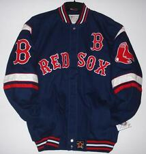 MLB Boston Red Sox Cotton Twill Jacket JH Design new with tag