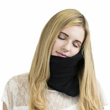 Soft Neck Head Support Pillow Travel Sleeping Airplane Car Outdoor Nap scarf