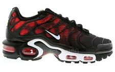 Nike Air Max Plus Txt Tuned 1 Tn Black White Challenge Red Mens Trainers 647315