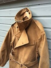 belstaff vintage rare trench coat (world war made by macintosh)