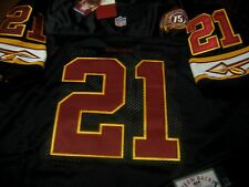 Brand New Washington Redskins #21 Sean Taylor Throwback Dual Patch sewn Jersey