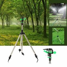 Unique Tripod Impulse Sprinkler Lawn Pulsating Telescopic Watering Grass RS