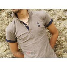 Polo New York Bradano Tess Flamed Fashion Man Turtle Dove Color Made In Italy