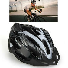 Unisex Adult Road Bike Bicycle Cycling Carbon Safety Helmet Visor Adjustable QP