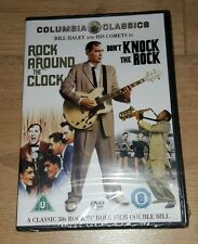 ROCK AROUND THE CLOCK / DON'T KNOCK THE ROCK - DVD - BILL HALEY - NEW SEALED