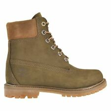Timberland Anti Fatigue 6 Inch Premium Green Womens Boots