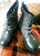 Ladies Dorothy Perkins Victorian style boots.£45..size 5..black..NWT