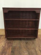 Solid Pine Wall Mounted Dresser Top Shelf  Unit Shabby Chic