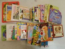 Lot of 35 Counting Colors Nursery Rhymes Preschool Baby Board Books