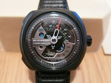 BNIB SEVENFRIDAY V-Series V3-01 Automatic PVD 49mm Carbon Fiber Dial!