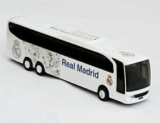 REAL MADRID CF Licensed Small Auto BUS Toy Car Gift Vehicle Football Soccer
