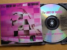 THE ART OF NOISE - The Best Of (Pink) CD 1992 China Records AS NEW Greatest Hits