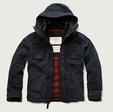 NEW Abercrombie & Fitch Mens Premium Mountain Jacket Navy NWT