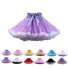 HIGA Sexy Ladies Women's Petticoat Layered Ballet Dance Pettiskirt Mini skirt