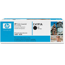 GENUINE HP HEWLETT PACKARD C4191A / 91A BLACK LASER PRINTER TONER CARTRIDGE