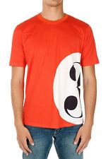 DOLCE&GABBANA New Men Orange jersey cotton tee t-shirt Made in Italy