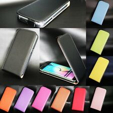 For Apple iPhone / Nokia Luxury Genuine Real Leather Flip Skin Phone Case Cover