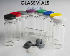 300 x 10ML GLASS VIALS - CHOOSE YOUR VIAL SETUP & COMBINATION