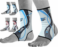 RDX Ankle Foot Support Anklet MMA Brace Guard Gym Sport Sock Protector SB