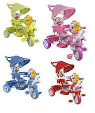 THREE WHEEL BIKE TRICYCLE SCOOTER BABY DUCK TODDLER INFANT TRIKE PARENT HANDLE N