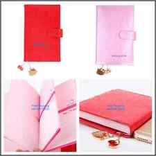 JAPAN MADE HELLO KITTY 9x13CM PU COVER 2017 SCHEDULE BOOK PLANNER W/ CHARM