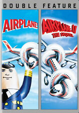 Airplane 1 (1980) / Airplane 2 The Sequel (Flying High 1 / 2 The Sequel) DVD NEW