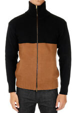 MARNI Man Cashmere & Wool Cardigan with Zip Made in Italy