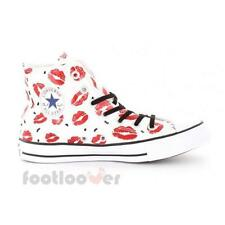 Scarpe Converse To Star CT Hi 552744c woman White Lipstick Limited Edition