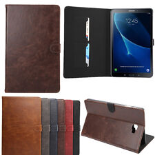 Leather Card Wallet Case Cover Stand for Samsung Galaxy Tab A 10.1'' T580N T585N