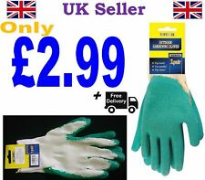 1 PAIR GARDEN GLOVES COMFORT AND STRETCHABLE AND STRONGLY DURABLE FREE DELIVERY