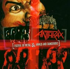 Anthrax - Fistful of Metal / Armed and Dangerous CD NEW