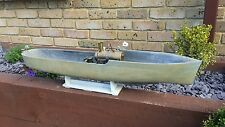 Wooden boat fitted with a Stuart Turner marine live steam engine vintage ship
