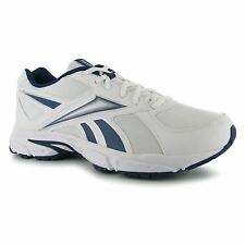 Reebok Transition Mens Running Shoes Trainers Wht/Blu Sneakers Sports Footwear