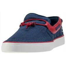 Lacoste Gazon Deck 216 1 Mens Boat Shoes Navy Red New Shoes