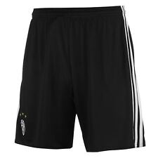Adidas Juventus Home Shorts 2016 2017 Mens Black/White Football Soccer