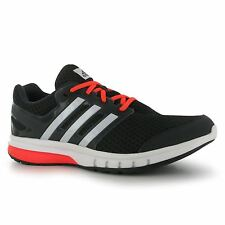 Adidas Galaxy Elite Running Shoes Mens Night Grey/White/Red Trainers Sneakers