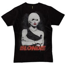 Fanpac Band Merchandise Blondie Red Lips Tshirt Mens Black