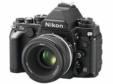 Nikon  D DF 16.2 MP Digital SLR Camera - Black (Kit w/ 50 mm f/1.8 Lens)