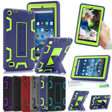 "Heavy Duty Armor Defender Case w/Stand Case Cover For Amazon Kindle Fire 7"" 5th"